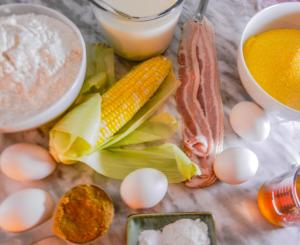 bacon-cheddar-cornbread-mise
